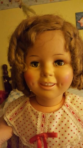 """Vintage 1960 Ideal Shirley Temple Playpal Doll St - 35 - 38 - 2 36 """" Tall"""