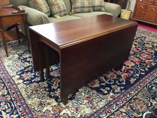 Kittinger Mahogany Drop Leaf Table - Delivery Available