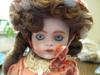 """9 """" Lovely Antique French Reproducion Bru J 9 Doll Just Darling"""