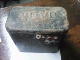 Novo Antique Hit And Miss Gas Engine Battery Box