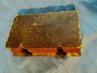 1821 German Bible.  Antique And Rare.  Collectable Book.