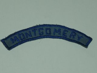 Air Scout Community Strip - Montgomery - Good