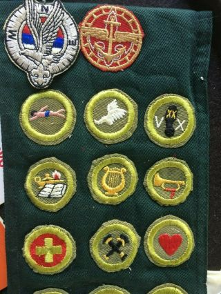 VTG BSA BOY SCOUT JAMBOREE/LODGE BADGES,  PATCHES,  KNIFE,  COIN,  BOOKS,  AQUATIC 11