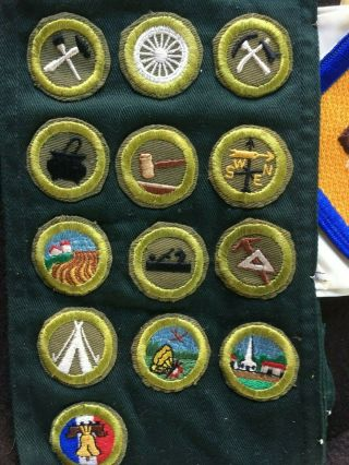 VTG BSA BOY SCOUT JAMBOREE/LODGE BADGES,  PATCHES,  KNIFE,  COIN,  BOOKS,  AQUATIC 12