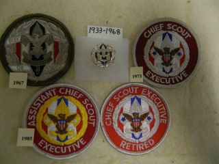 """Boy Scout Bsa """" Chief Scout Executive """""""