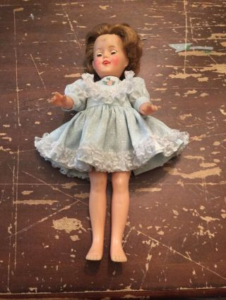Vintage Ideal 12 Inch Shirley Temple Doll