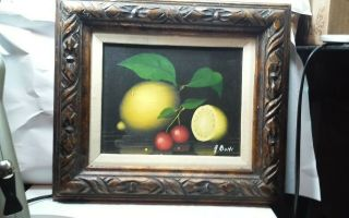 Exceptional Vintage Oil Painting Framed And Signed.