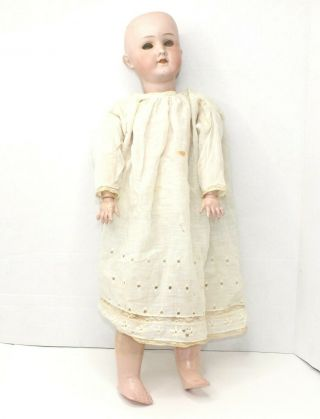 Goebel 1880s Germany B3 Bisque Head Doll Composition Body Parts Repair Only