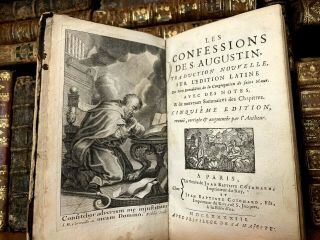 1693 Confessions Of Saint Augustine