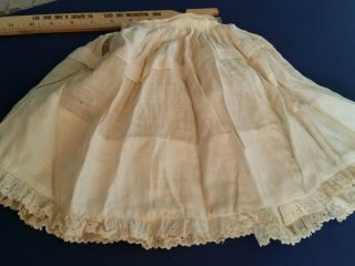 Antique Victorian Slip Doll Clothes For French German Bisque
