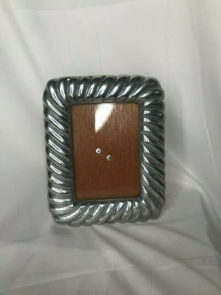 Pewter Picture Photo Frame - Mexico - Art Decorative