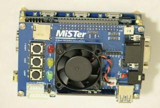 Mister Fpga Now 6.  0 Io Board/ De10 Nano Kit/nes/commodore Amiga/c64/apple.
