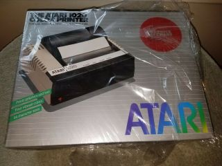 In The Box Atari 1020 Color Printer Texts And Graphics,  Replacement Pens