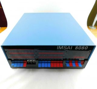Vintage Imsai 8080 Computer Serial 25050a Includes (6) S - 100 Cards