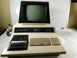 Vintage Commodore Pet 2001 - 8 With Chiclet Keyboard