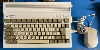 Commodore Amiga 600 Ntsc Recapped,  3.  1 Kickstart And Wb,  Mouse,  Hdd,  Ram