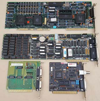 Bridgeboard A2088 Pc Emulator & Other Boards For Commodore Amiga 2000 3000 4000