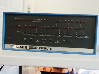 Mits Altair 8800 Computer Case W Manuals