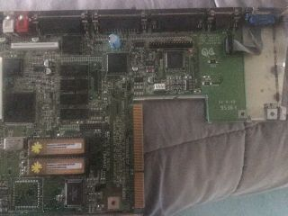 Amiga A - 1200 Mother Board With 3.  1 Roms,  4gb Cf Hard Drive