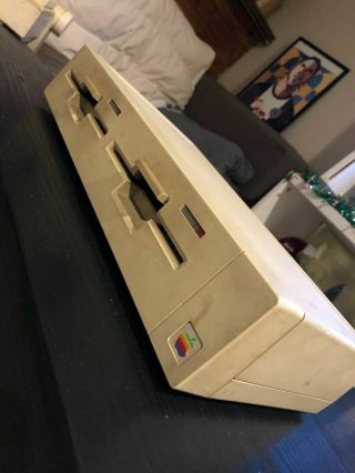 Vintage Duo Disk Duodisk 5.  25 Floppy Drive For Apple Ii Computers,  A9m0108