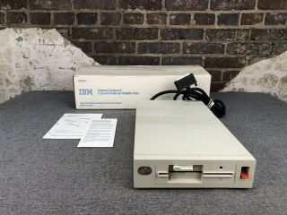 "Ibm 4869 360k 5.  25 "" External Floppy Drive For Ps/2 Computer"