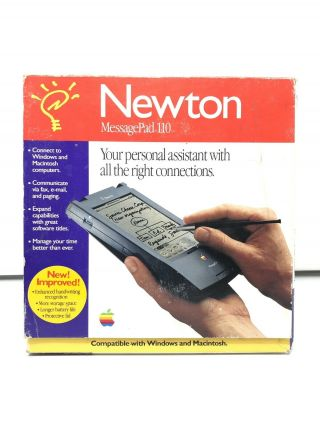 Apple Newton Messagepad 110 - Vintage.  Perfectly,  No Damage.