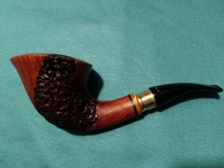 Poul Winslow E With Silver Pipe