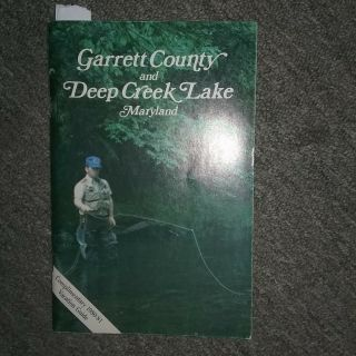 1980 - 1981 Vintage Rare Garrett County & Deep Creek Lake Maryland Guide