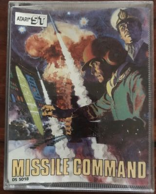 Missile Command Atari 1040 St/ste Disk