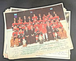 1975,  76,  77 Champion Phila.  Phillies Team,  77 Flyers Posters The Sunday Bulletin