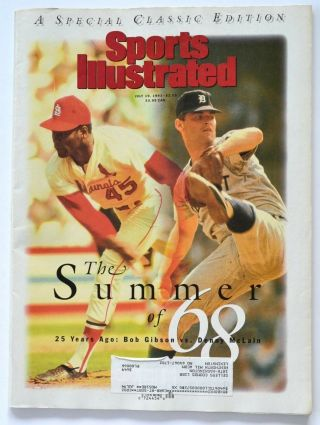 Sports Illustrated - July 19,  1993 - Special Classic Edition The Summer Of 1968