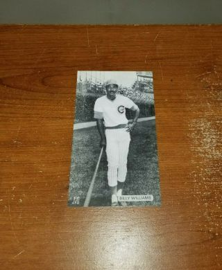 Vintage Billy Williams J.  D.  Mccarthy Postcard Chicago Cubs