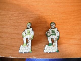"Skeletons 2 Pin Set - 2 "" Each - Little League World Series Pins - Pa 13"