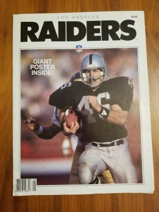 Los Angeles Raiders Giant Poster