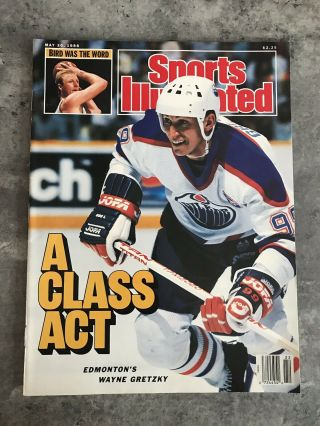 Sports Illustrated May 30th 1988 A Class Act Wayne Gretzky - Near