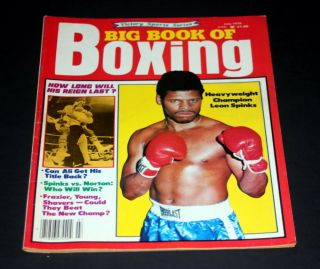 Big Book Of Boxing July 1978 Leon Spinks