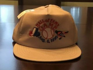 World Champion Nationals/expos Cooperstown Hof Game Aug 6,  1990 Baseball Cap
