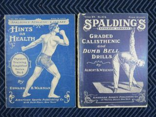(2) 1903 - 1904 Spalding Athletic Guides