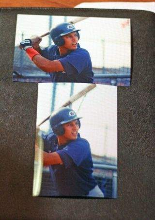 2 - One Of A Kind 4x6 Photos,  Derek Jeter,  Columbus Clippers,  1994