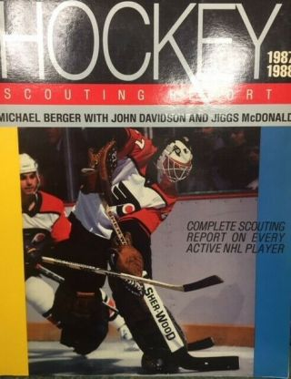 Hockey Scouting Report 1987 - 1988
