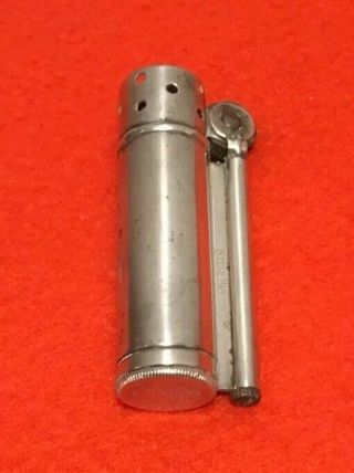 Dunhill Sterling Silver Service Lighter Wwii Trench Lighter 1940's