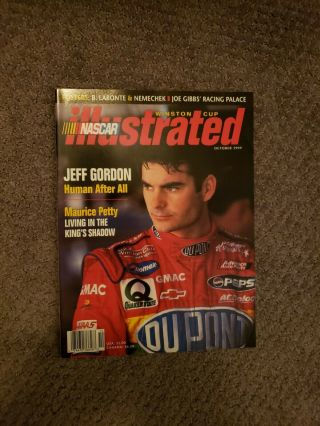 Nascar Illustrated Jeff Gordon October 1999