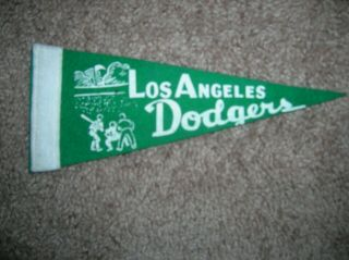 Los Angeles Dodgers 1960 Mini Pennant
