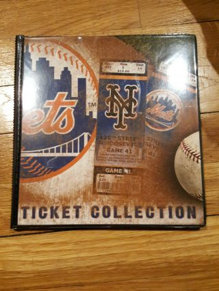 Mlb Ticket Album Ny Mets