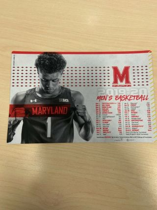 University Of Maryland 2019/20 Men