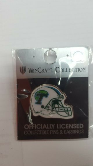 Tulane Football Lapel Pin/earring