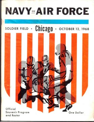 October 12,  1969 Navy Air Force College Football Program