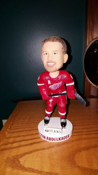 Justin Abdelkader Detroit Redwings Bobble Head Loose Figure