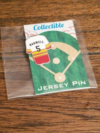 Jeff Bagwell Houston Astros Jersey Pin