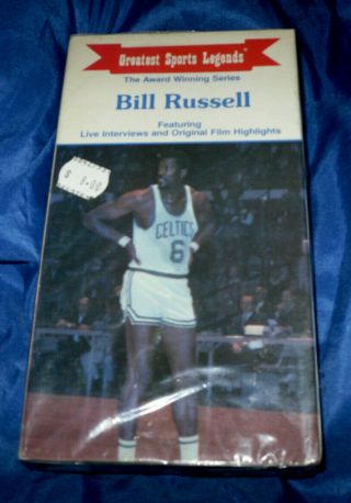 Bill Russell Greatest Sports Legends Vhs Highlights And Interviews